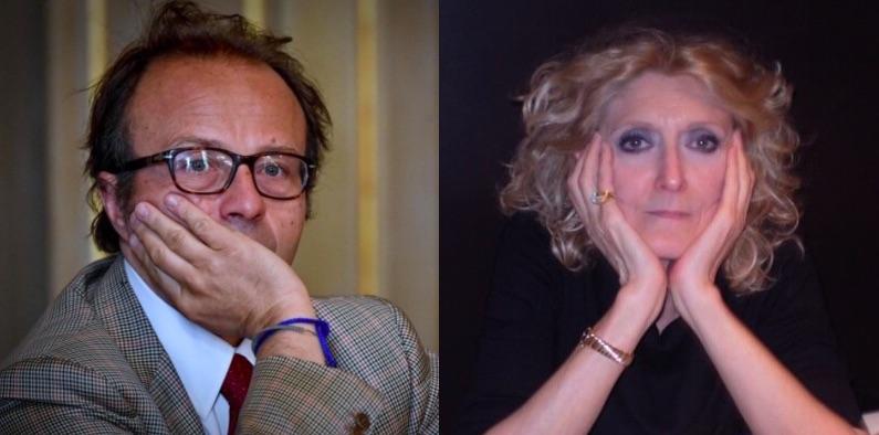 Il pm Henry John Woodcock e la giornalista Liana Milella: tradita una fiducia ventennale