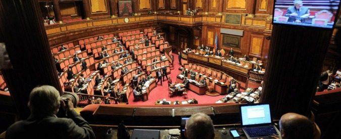 Senato tribuna stampa