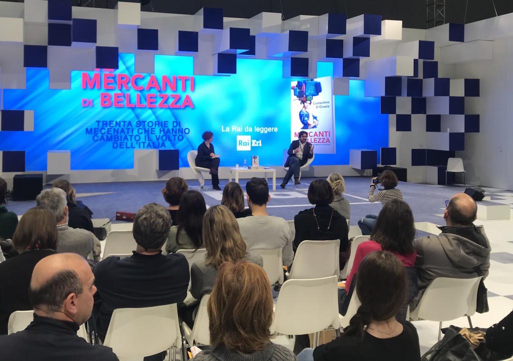 Si presentano libri alla fiera di Milano (foto Giornalisti Italia)