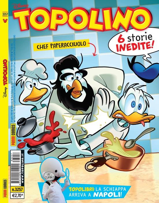 Paperacciuolo: lo chef Antonino Cannavacciuolo diventa un fumetto