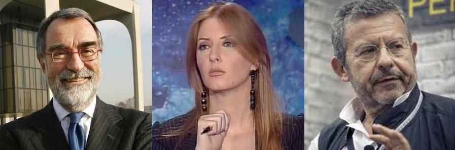 Maurizio Costa, Barbara Carfagna e Michele Mezza