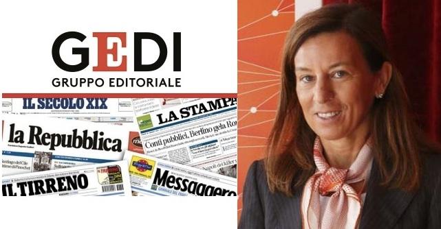 Laura Cioli, nuovo amministratore delegato di Gedi