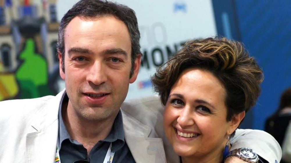 Mauro Pianta e la moglie Silvia Scarrone