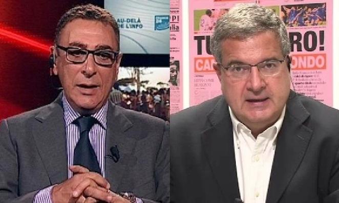 Stefano Cazzetta e Umberto Zapelloni