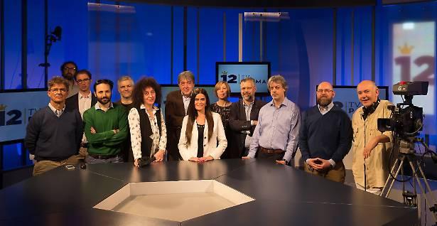 La nuova redazione di 12 Tv Parma