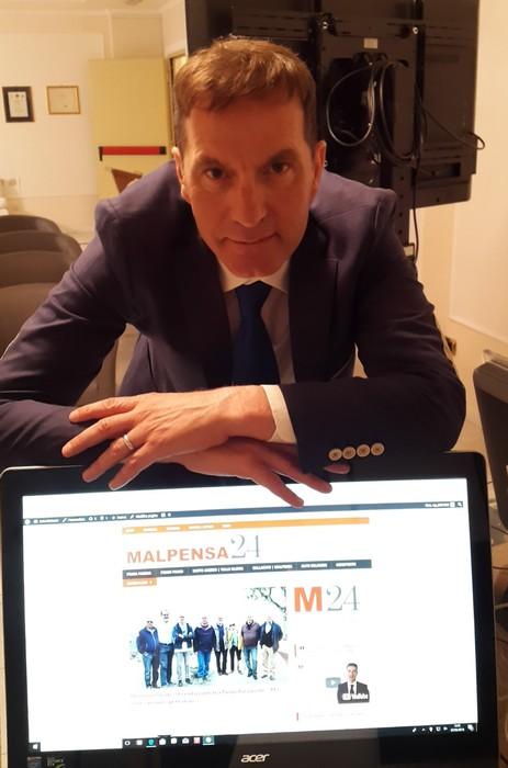 Fabrizio Iseni, editore di Malpensa24