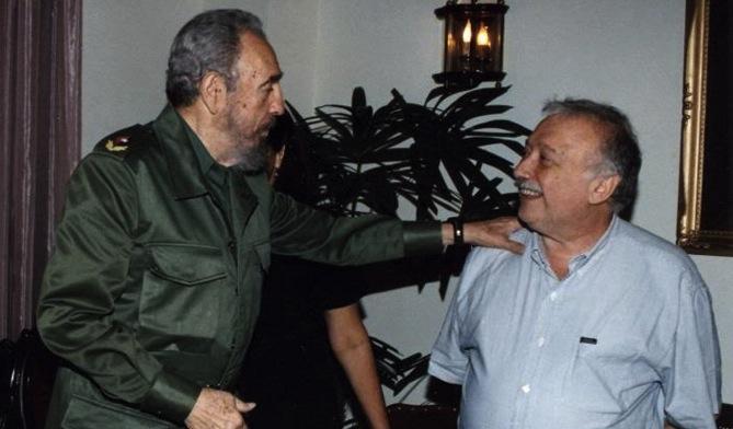 Giannì Minà con Fidel Castro