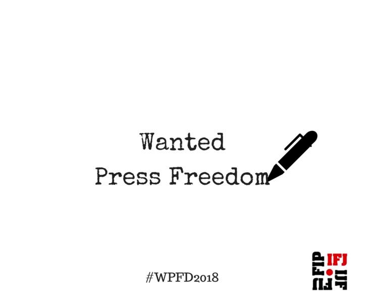 Giornata mondiale libertà di stampa