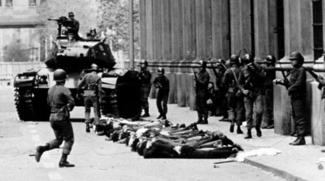 11 settembre 1973: il golpe militare in Cile messo a segno da Augusto Pinochet