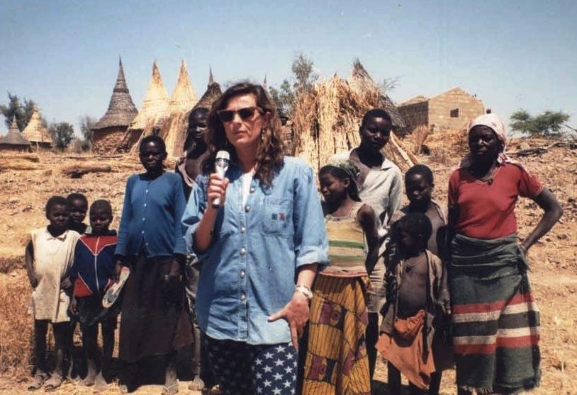 Maria Pia Farinella inviata in Camerun