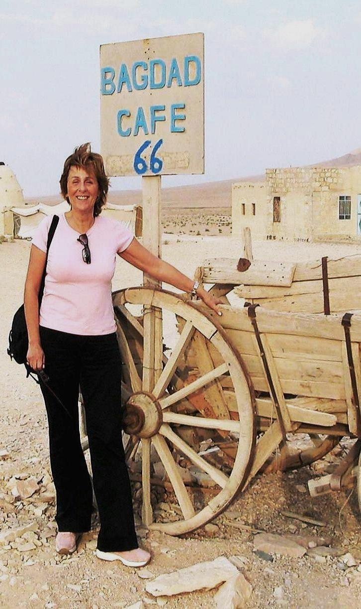 Maria Pia Farinella in Siria
