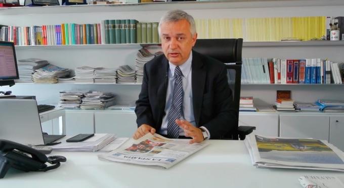 Maurizio Molinari, direttore del quotidiano La Stampa
