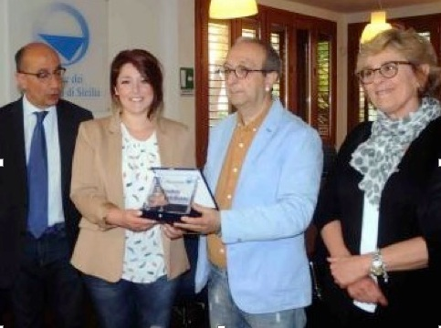 Da sinistra: Salvatore Licastri, Benedetta Intelisano, Claudio Zarcone e Maria Pia Farinella