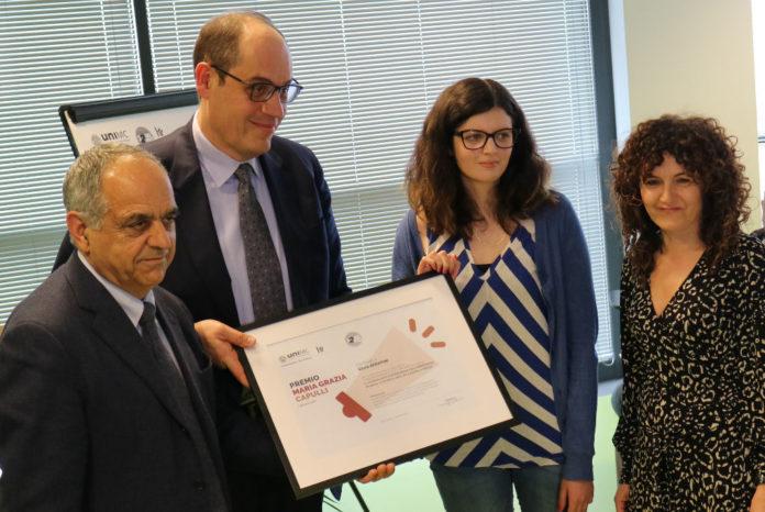 A Silvia Serafini il Premio Maria Grazia Capulli