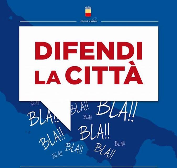 """Difendi la città """"a gratis"""": un bando a Napoli"""