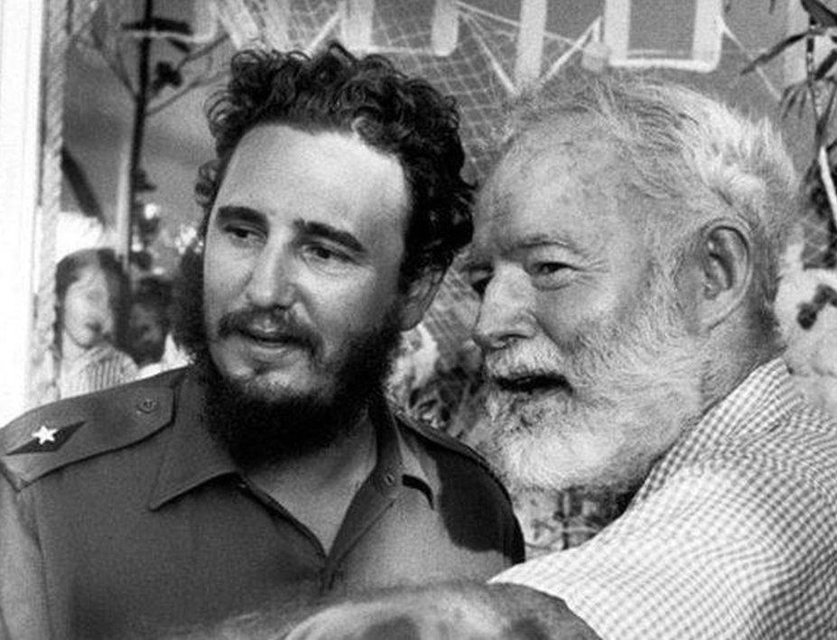 Ernest Hemingway Fidel Castro - Giornalistitalia