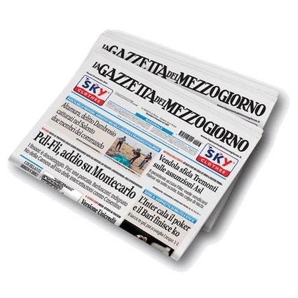 La Gazzetta del Mezzogiorno: ennesimo stop